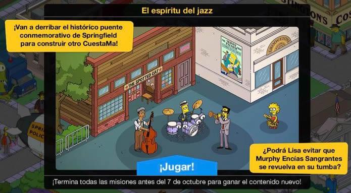 Los Simpson: Springfield - El espíritu del jazz