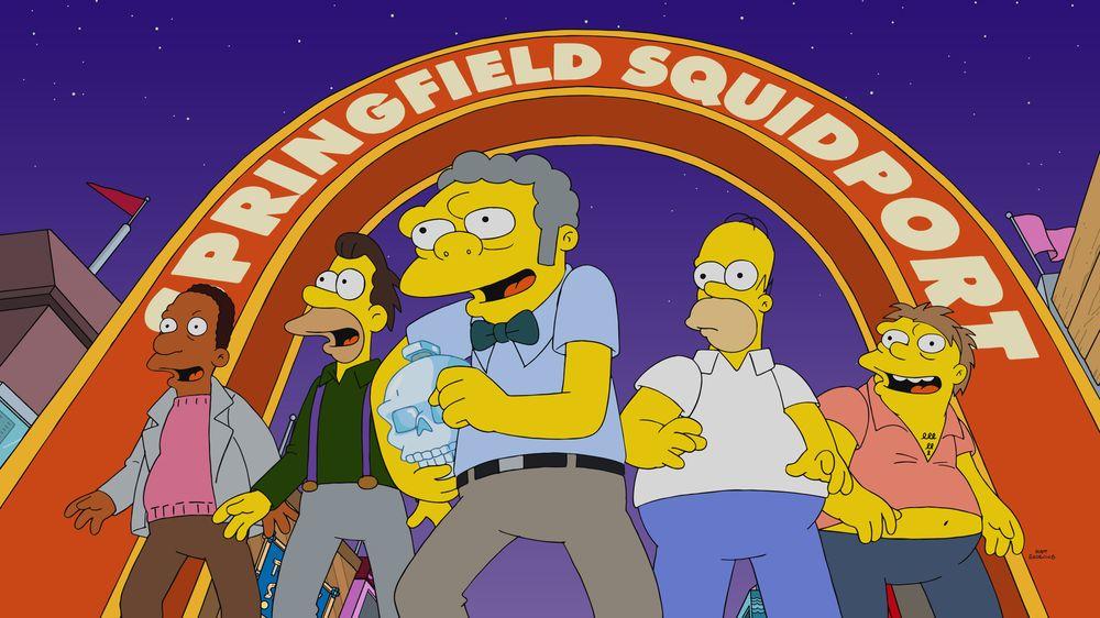 Los Simpson - Temporada 32 - The Last Barfighter