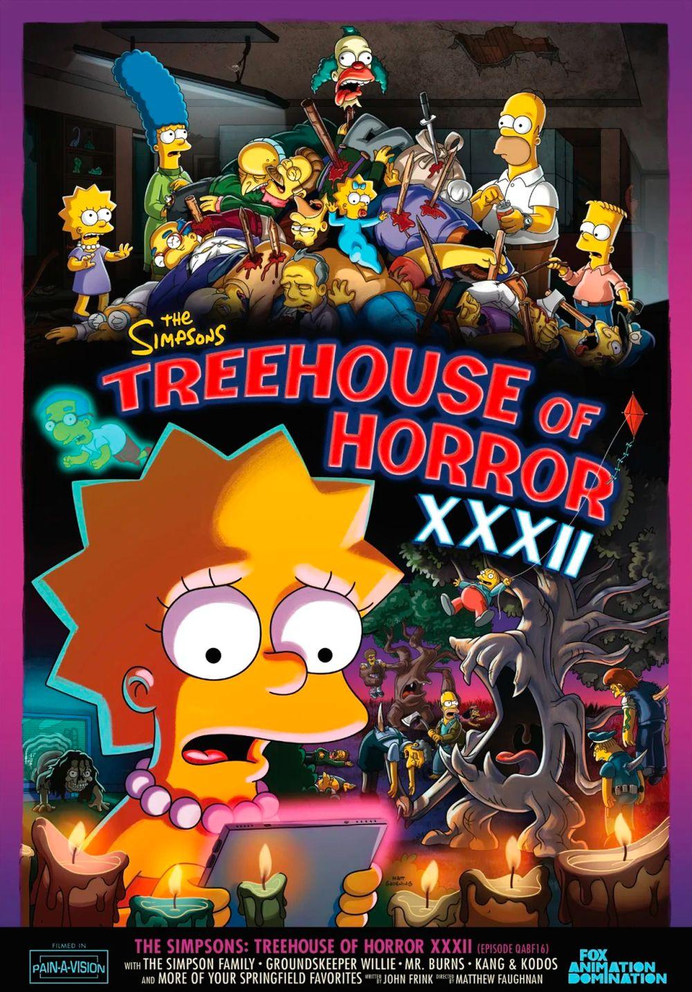 "Los Simpson - Temporada 33 - ""Treehouse Of Horror XXXII"""