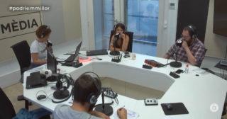 Entrevista a Carlos Ysbert e Isatxa Mengíbar en À Punt Ràdio