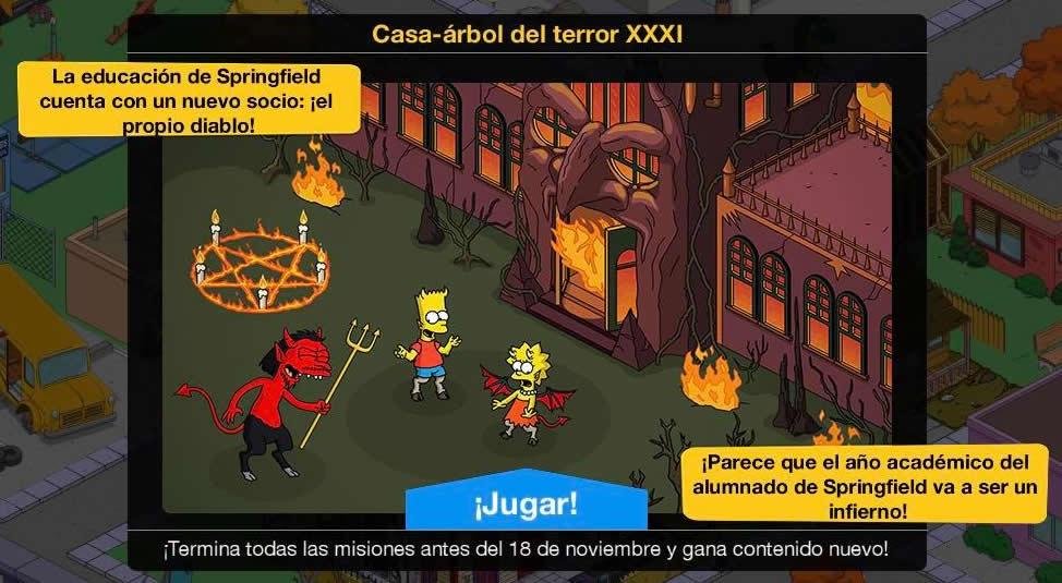 Los Simpson: Springfield - Casa-árbol del terror XXXI