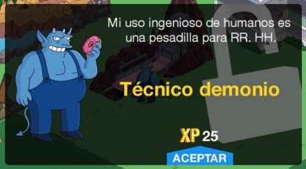 Los Simpson: Springfield - Técnico demonio