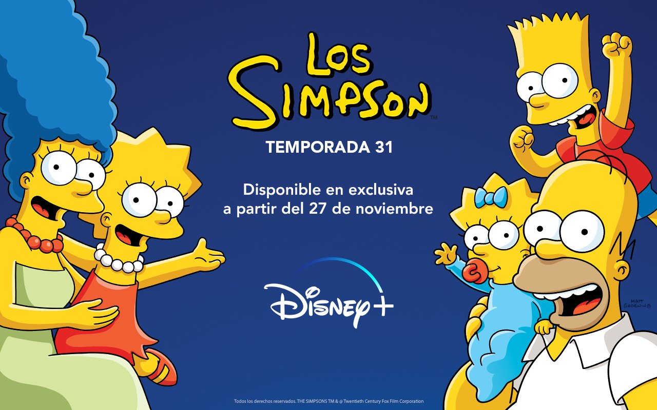 Los Simpson - Temporada 31 - En excusiva en Disney+