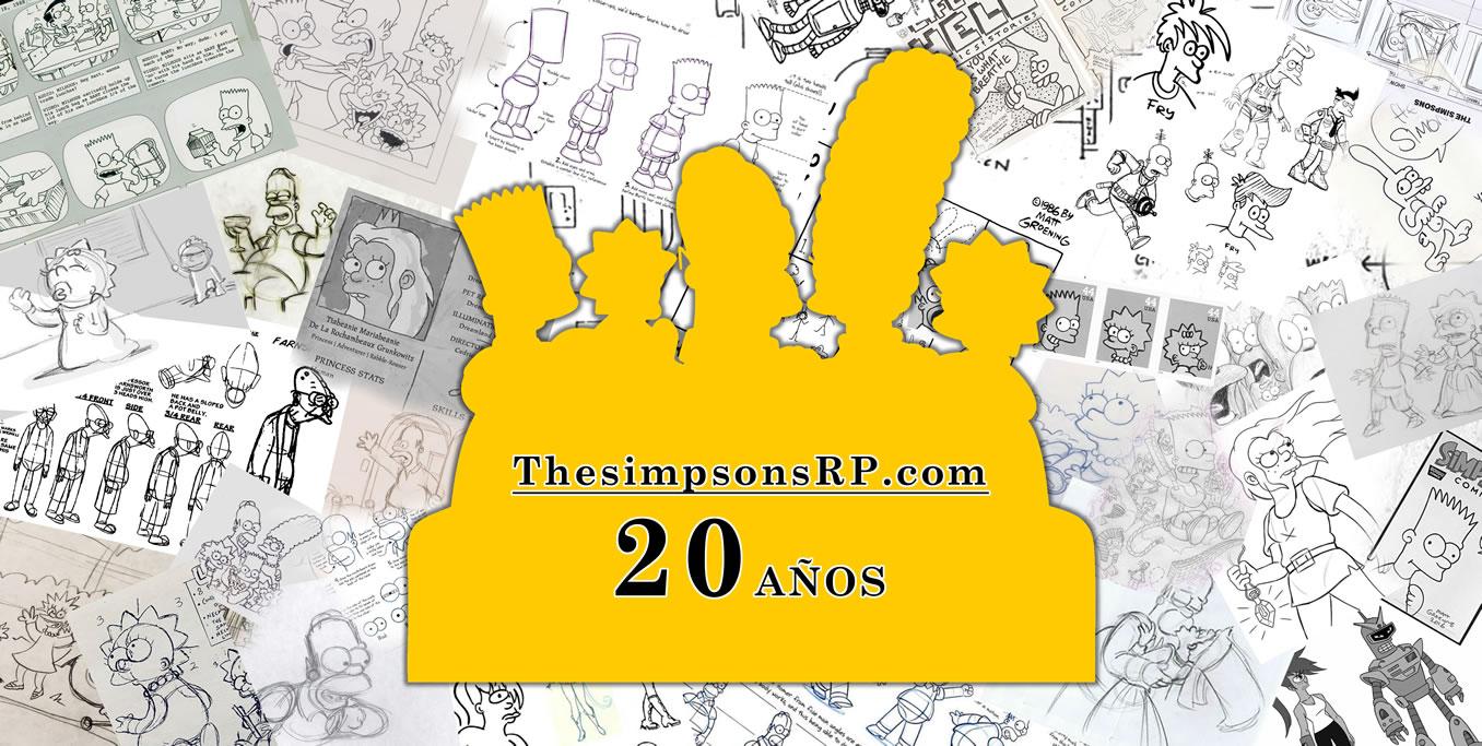Los Simpson: ThesimpsonsRP cumple 20 años