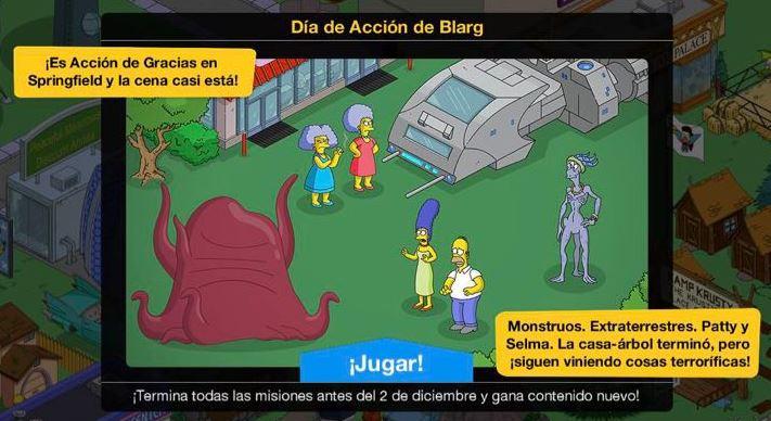 Los Simpson: Springfield - Día de Acción de Blarg