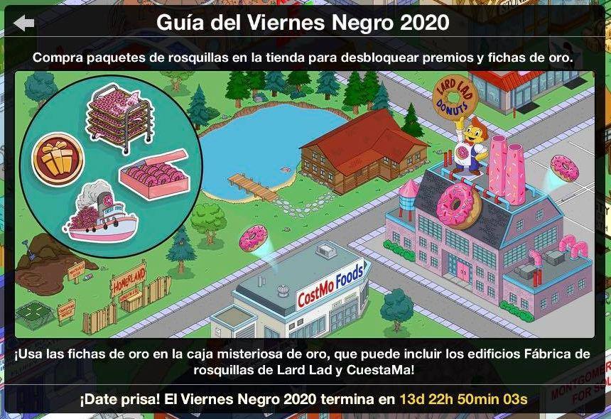 Los Simpson: Springfield - Viernes Negro 2020