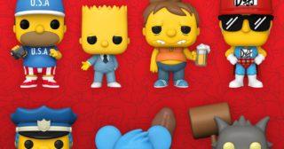 Se anuncian ¡12! nuevas Funko Pop! de Los Simpson