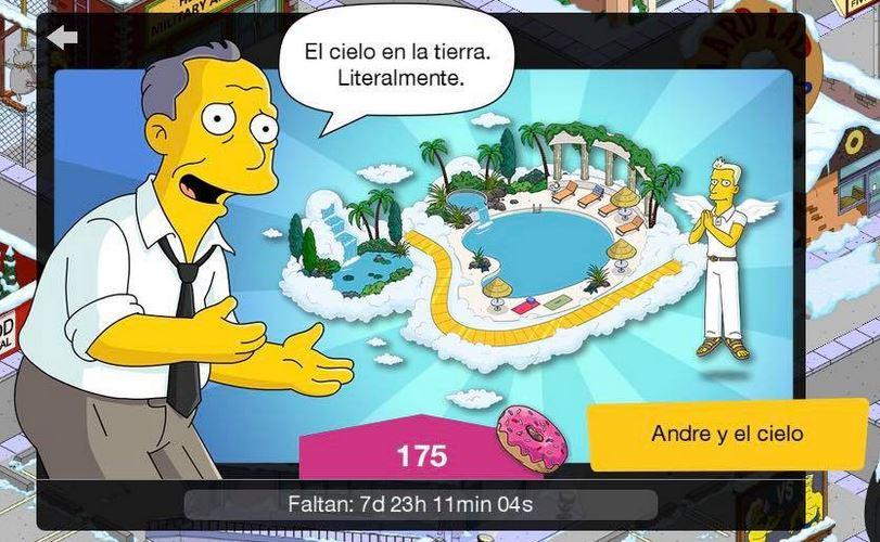 Los Simpson: Springfield - Andre y el cielo