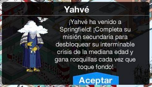 Los Simpson: Springfield - Yahvé