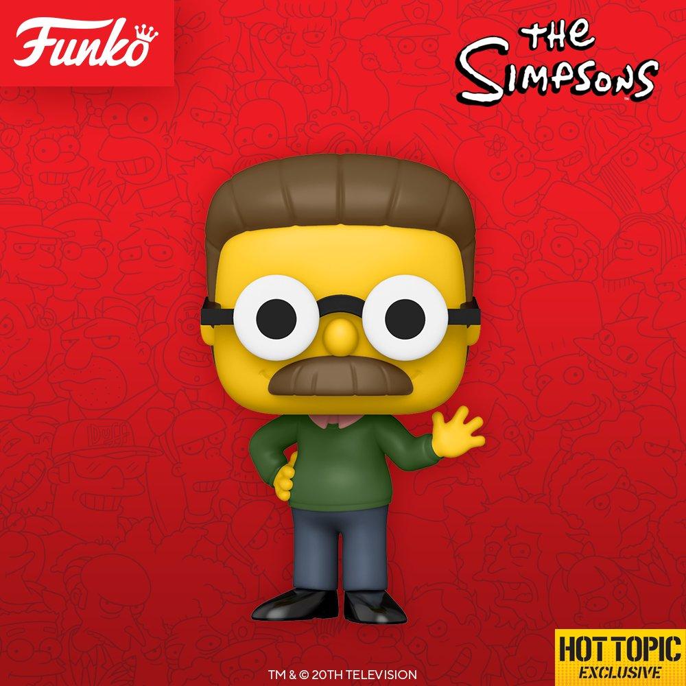 Funko Pop! Los Simpson: Ned Flanders