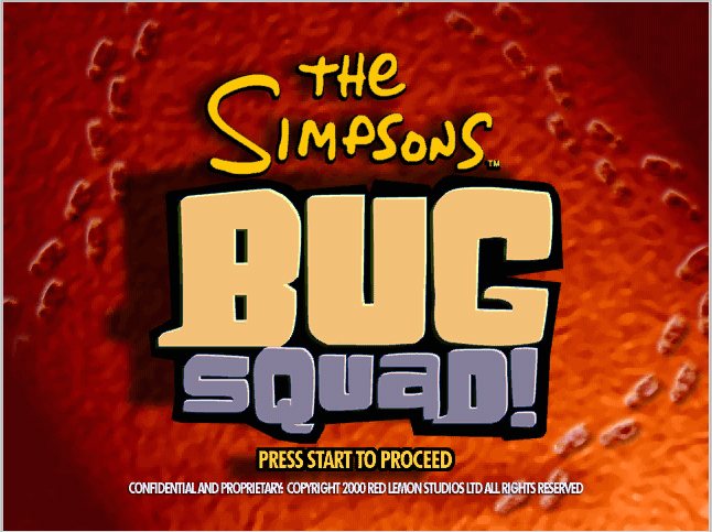 The Simpsons: Bug Squad!