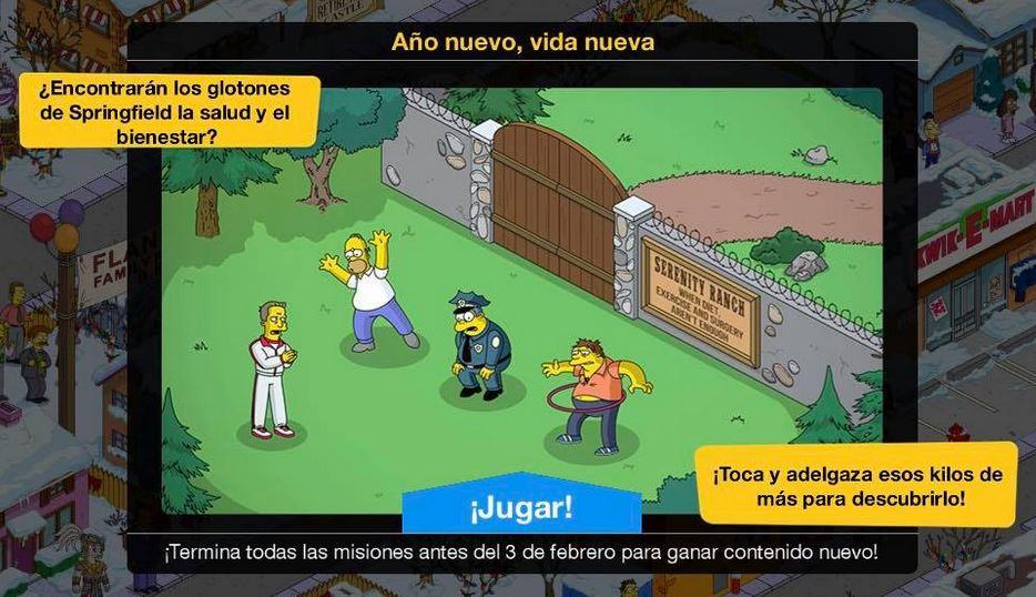 Los Simpson: Springfield - Año nuevo, vida nueva