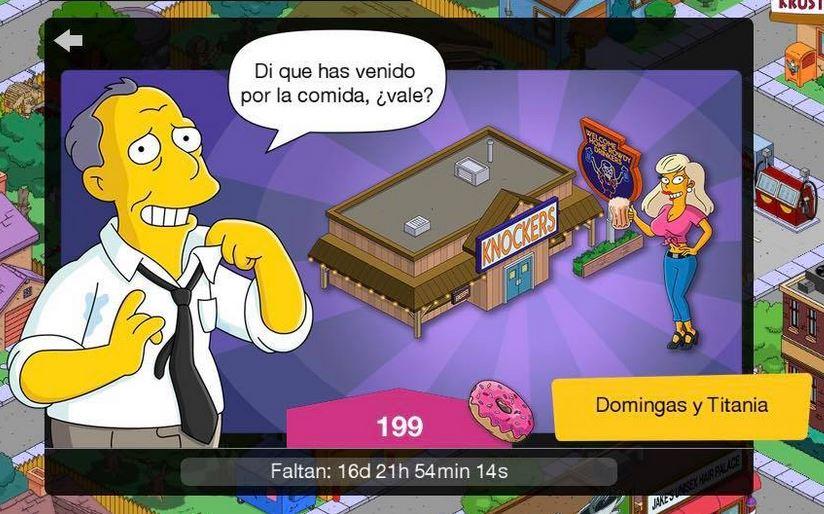 Los Simpson: Springfield - Domingas y Titania