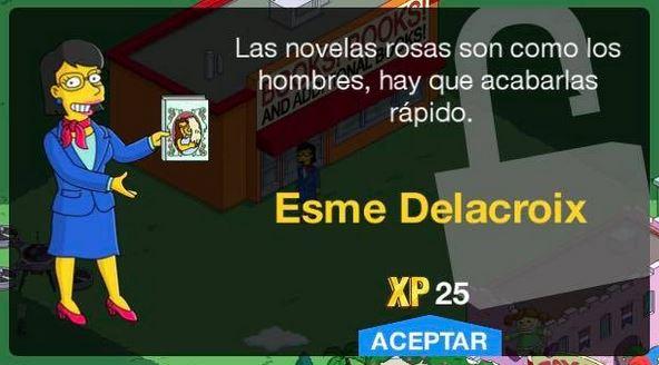 Los Simpson: Springfield - Esme Delacroix