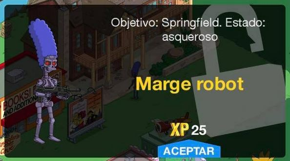 Los Simpson: Springfield - Marge Robot