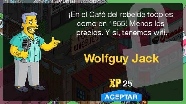 Los Simpson: Springfield - Wolfguy Jack