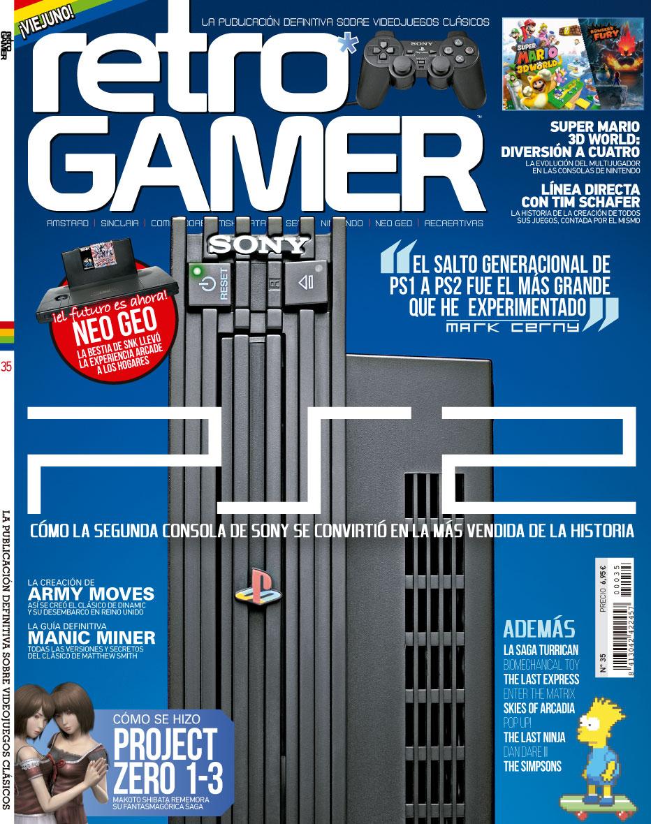 Revista Retro Gamer número 35.