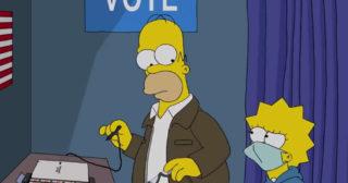 El corto Homer Vota 2020, nominado a un premio Webby