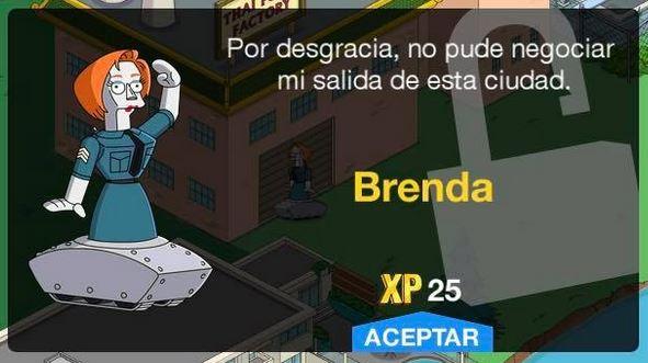 Los Simpson: Springfield - Brenda