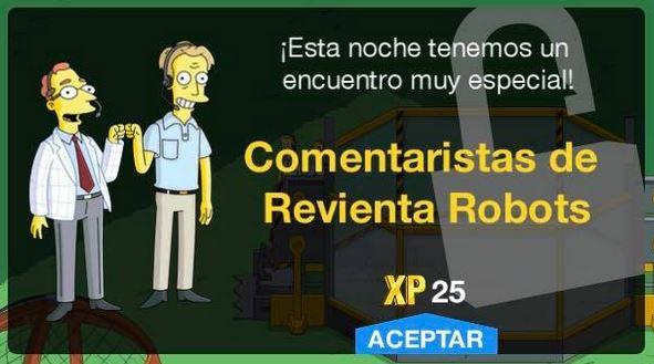 """""""Los Simpson: Springfield"""" - Comentaristas de Revienta Robots"""