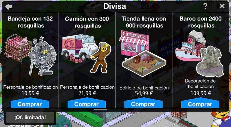 """""""Los Simpson: Springfield"""" - La rebelión de los robots - Tienda"""