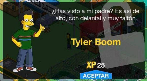 Los Simpson: Springfield - Tyler Boom