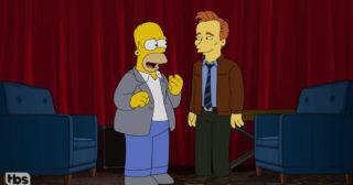 Los Simpson homenajea a Conan O'Brien en su último programa