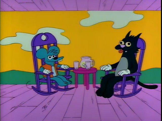 Los Simpson - Rasca y Pica