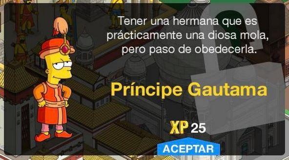 Los Simpson: Springfield - Príncipe Gautama