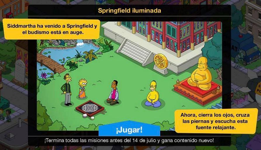 Los Simpson: Springfield - Springfield Iluminada
