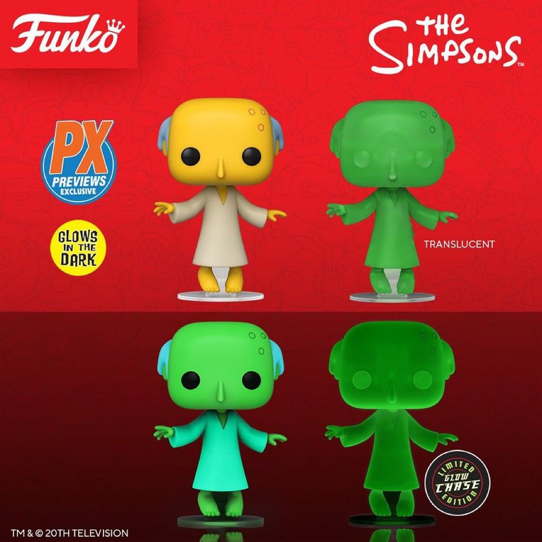 Funko Pop! Glowing Mr. Burns