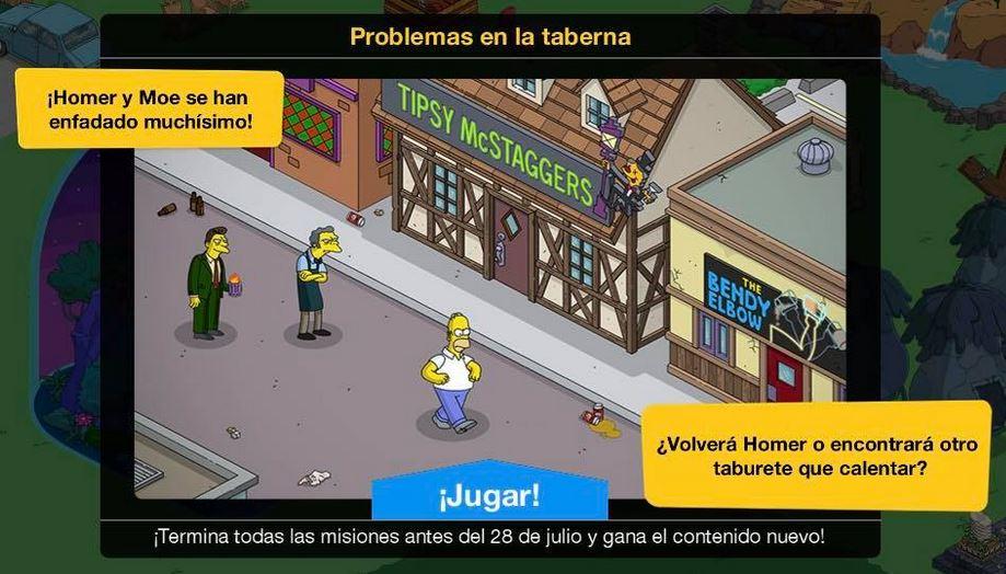Los Simpson: Springfield - Problemas en la taberna