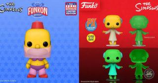 Nuevas Funko Pop! exclusivas de Los Simpson: Homer bailarina y Burns brillante