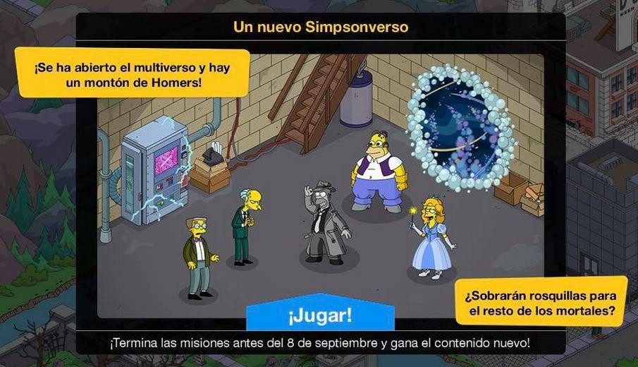 Los Simpson: Springfield - Un Nuevo Simpsonverso