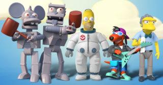 Super7 anuncia una nueva colección de figuras de Los Simpson