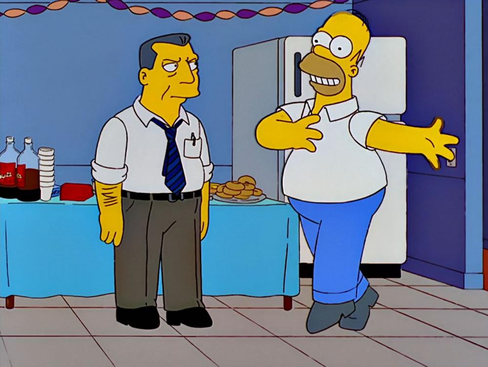 Edward Asner en Los Simpson