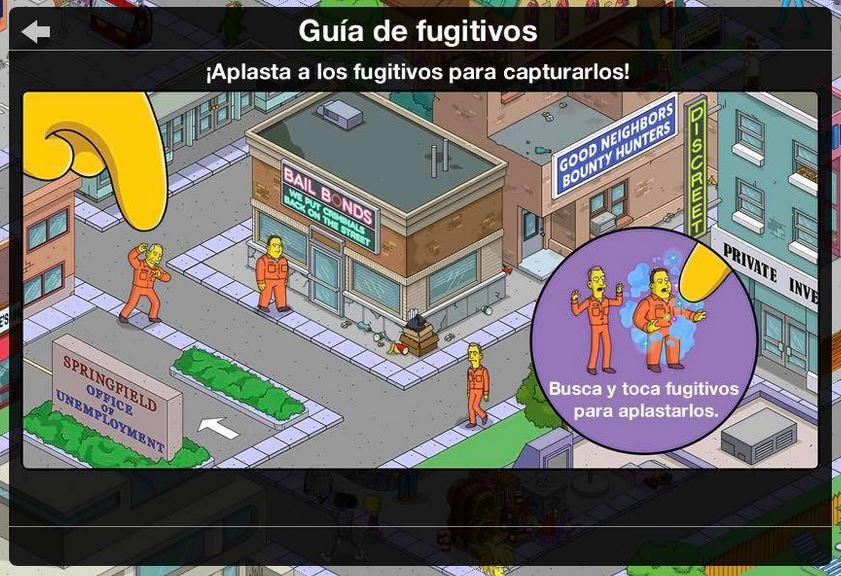 Los Simpson: Springfield - Recompensas a la fuga