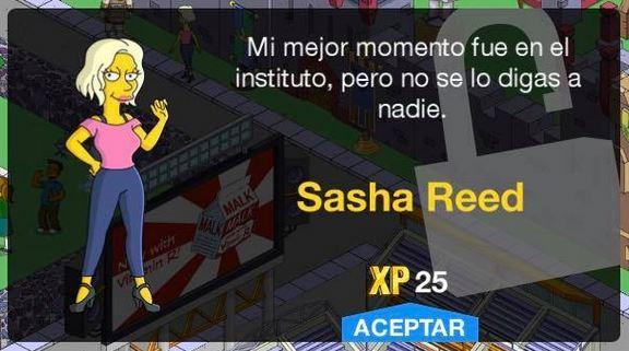 Los Simpson - Springfield - Sasha Reed