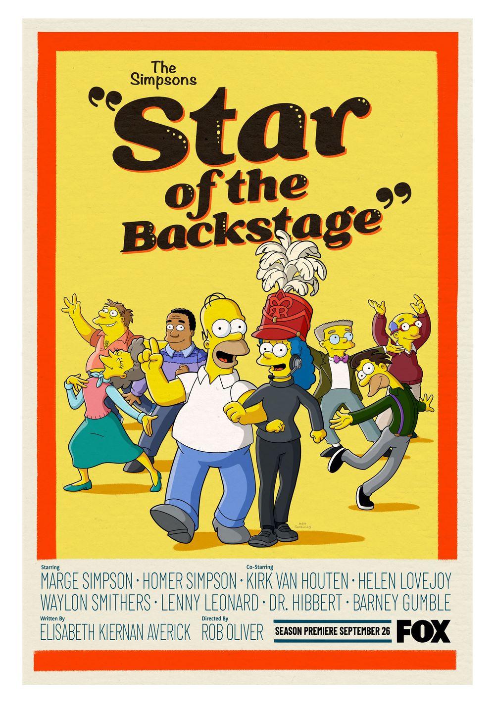 "Los Simpson - Temporada 33 - ""The Star Of The Backstage"""
