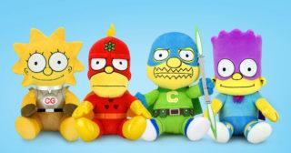Kidrobot lanza una tanda de peluches de superhéroes de Los Simpson