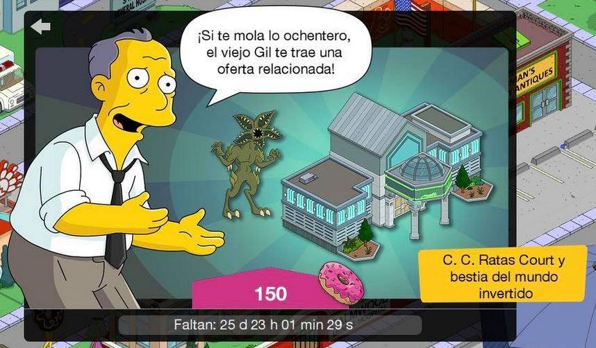Los Simpson: Springfield - Bestia del mundo invertido