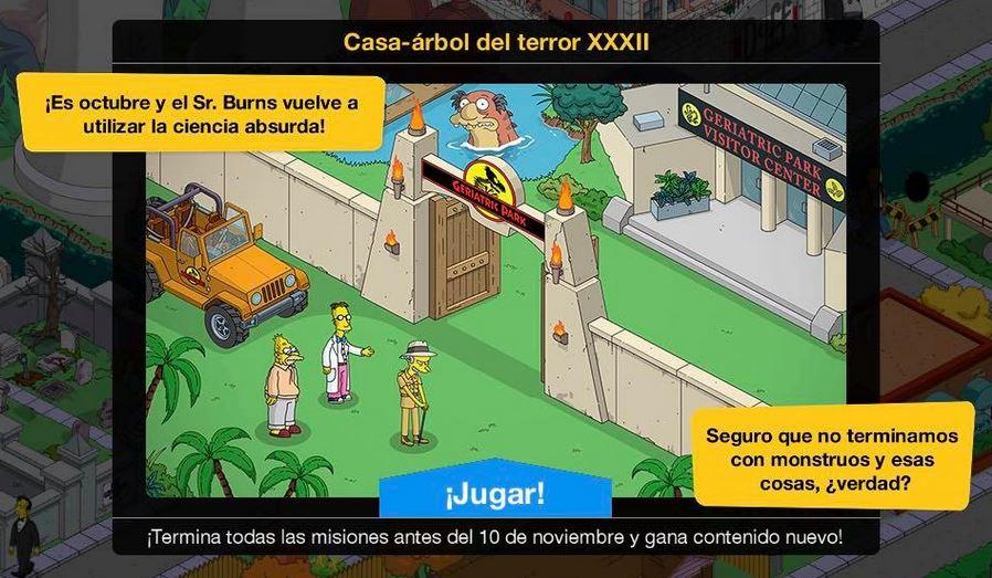 """""""Los Simpson: Springfield"""" - Casa-Árbol Del Terror XXXII"""
