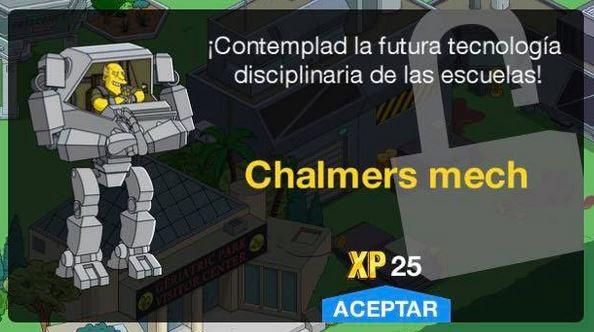 Los Simpson: Springfield - Chalmers mech